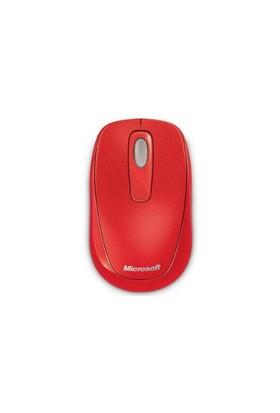 Microsoft Wireless Mobile 1000 Kırmızı Mouse (2CF-00039)