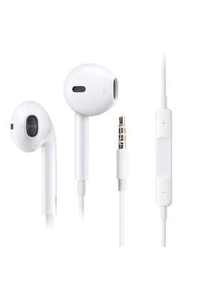 Microsonic İphone/Android Kumandalı Microfonlu Stereo Kulaklık Tüm Modellerle Uyumlu Beyaz