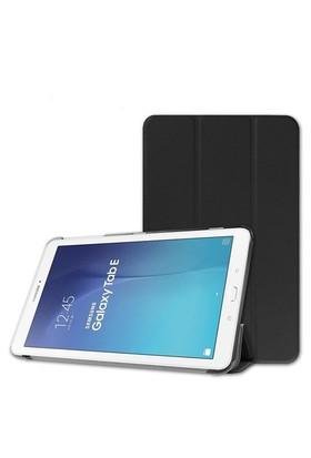Ally Galaxy Tab E 9.6 T560 - T561 Gizli Mıknatıslı Standlı Ultra İnce Deri Kılıf