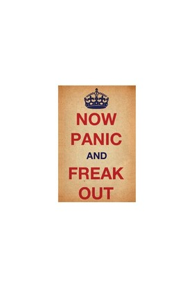 Urbangiftnow Panıc And Freak Out Photo Magnet 6*9Cm