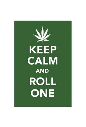 Urbangiftkeep Calm And Roll One Photo Magnet 6*9Cm