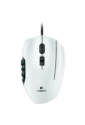 Logitech G600 MMO Beyaz Gaming Mouse (910-003630)