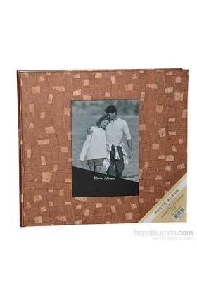 600'Lük Fotoğraf Albümü (Klasör Tipi)-Kahverengi
