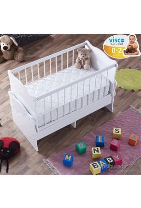 Monessa Baby Blue Visco Bebek Yatağı 60X120-30 Gün Deneme Süresi