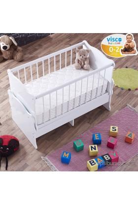 Monessa Baby Pink Visco Bebek Yatağı 60X120-30 Gün Deneme Süresi
