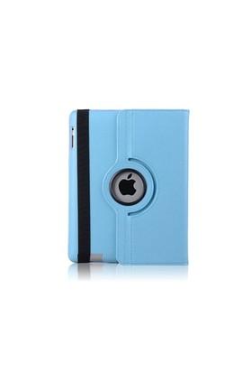 Romeca New iPad/iPad 2 360 Derece Dönebilen Mavi Kılıf