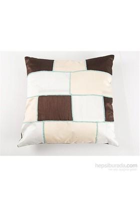 I Love Home Kare Desenli Yastık