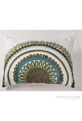 I Love Home Desenli Beyaz Yastık