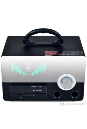 Piranha Musicbox N Type Usb SD Portatif Müzik Seti