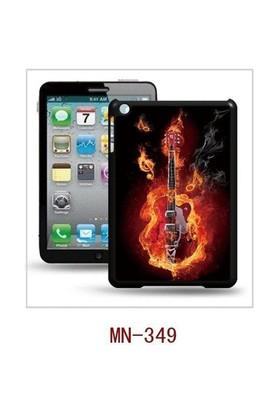 I-Techgear iPad Mini 1/2/3 - 3D Hologramlı Alevli Gitar Arka Kapak (ITG-MN-349)