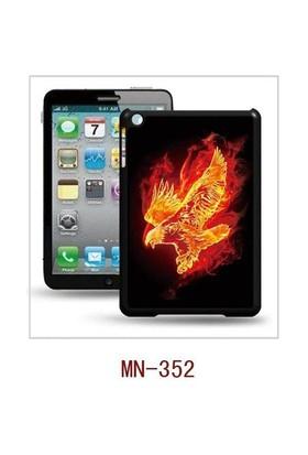 I-Techgear iPad Mini 1/2/3 - 3D Hologramlı Alevli Kartal Arka Kapak (ITG-MN-352)
