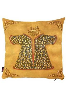 Bengü Accessories Osmanlı Kaftan Desenli Dekoratif Yastık 2 40X40 Cm