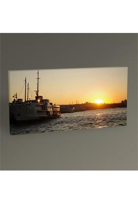Tablo 360 İstanbul Ve Günbatımı Tablo 60X30