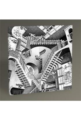 Tablo 360 Mc Escher Relativity Tablo 30X30