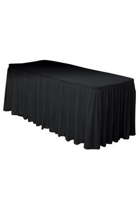 Pandoli Siyah Renk Plastik Masa Eteği