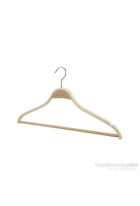 Tuğbasan 3'Lü Ahşap Bluz Takım Askısı No2 Naturel