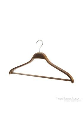 Tuğbasan 3'Lü Ahşap Mandallı Bluz Takım Askısı No1 Ceviz