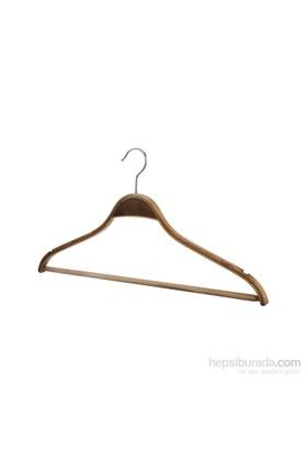 Tuğbasan 3'Lü Ahşap Barlı Bluz Takım Askısı No2 Ceviz