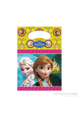 KullanAtMarket Frozen Parti Çantası 8 Adet
