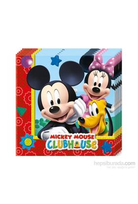 Kullanatmarket Mickey Playful Peçete 20 Adet