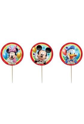 Pandoli Mickey Playful Kürdan 6 Adet