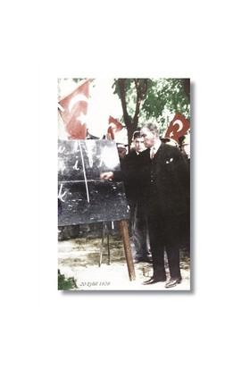 Ritmo-Başöğretmen Atatürk Kanvas Tablo