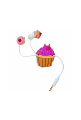 Cupcake Kulaklık Ve Kablo Toplayıcı