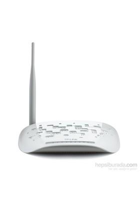 TP-LINK TD-W8951ND 150Mbps N Kablosuz 4-Port 5dBi Değiştirelebilir Antenli WPS ADSL 2/2+Modem/Router/AP