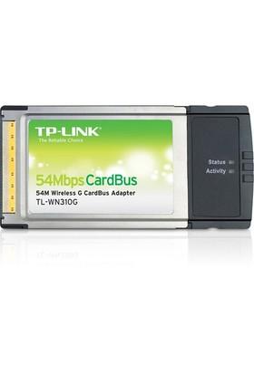 TP-LINK TL-WN310G 54Mbps Kablosuz CardBus Adaptör