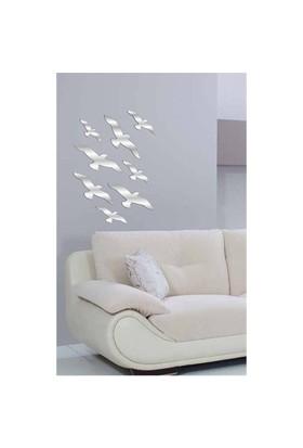 Uçan Kuşlar Dekoratif Ayna