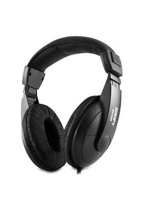 Snopy SN-4288 Mikrofonlu Kulaküstü Siyah Kulaklık
