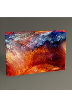 Tablo 360 Renkli Soyut Yağlı Boya Tablo 45X30