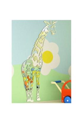 Zürafa Hayvan Figürlü Boy Aynaları