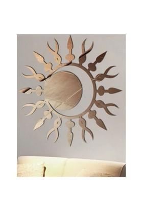 Güneş ve Hilal Motifli Hitit Mitolojisi Duvar Aynası