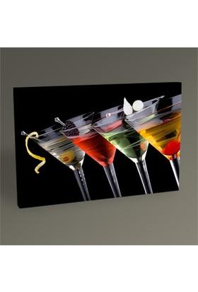 Tablo 360 Dört Renk Kokteyl Tablo 45X30