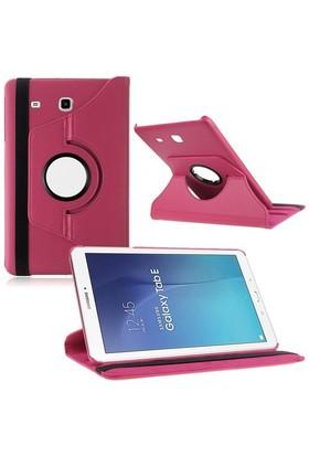 "Kılıfshop Samsung Galaxy Tab E Sm T560 9.6"" 360° Dönebilen Kılıf Pembe"