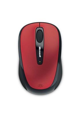 Microsoft Wireless 3500 Mobile Mouse Kırmızı (GMF-00195)