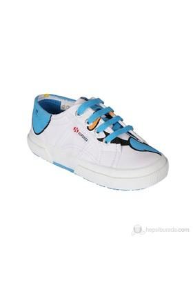 Superga Disney Papern Çocuk Ayakkabı Beyaz