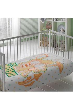 Taç Lisanslı Bebek Battaniye - Arı Maya Baby