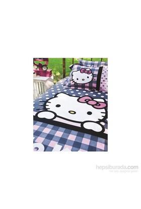Hello Kitty Tek Kişilik Nevresim Takımı Style