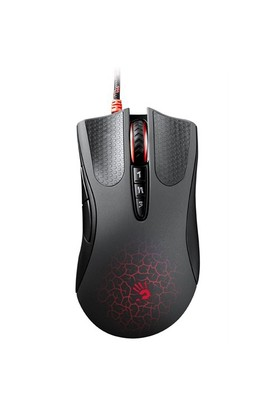 Bloody A9 Multi Core Metal Ayak Siyah Optik Oyuncu Mouse