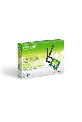 TP-LINK TL-WDN3800 600 Mbps N Kablosuz WPS Tuşlu 2x2dBi Değiştirilebilir Antenli Dual Band PCI Express Adaptör