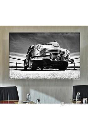 Klasik Otomobil Dekoratif Kanvas Tablo