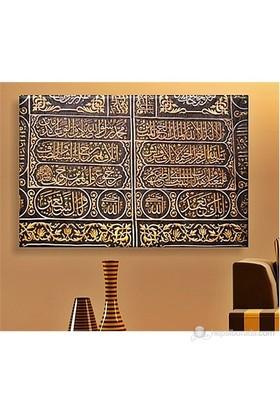 Arapça Yazılar Kanvas Tablo