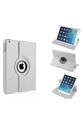 Mobile World iPad 2/3/4 360 Derece Dönebilen Beyaz Tablet Kılıfı