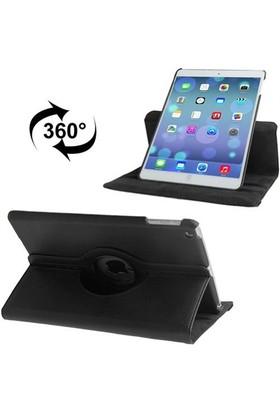 Mobile World iPad 2/3/4 360 Derece Dönebilen Siyah Tablet Kılıfı