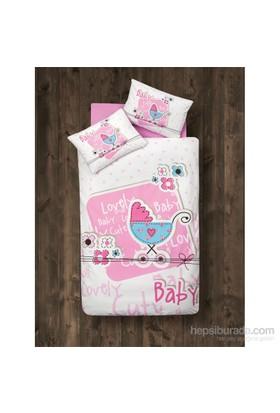 Clasy Tek Kişilik Bebek Nevresim Takımı Lovely Baby