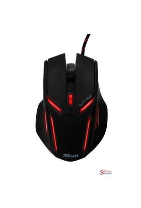 Trust GXT 152 Illuminated Aydınlatmalı Kablolu Siyah Oyuncu Mouse (MOU TRUST 19509)