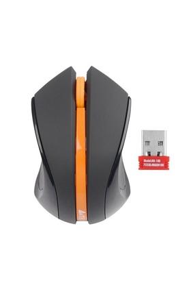A4 Tech G7-310D-3 Kablosuz Siyah/Turuncu Mouse