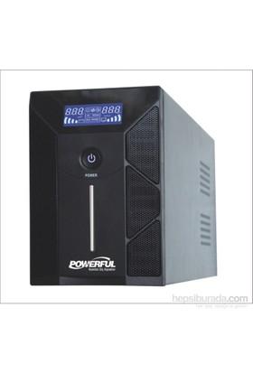 Powerful PLD-3000 3000VA LCD Panel Line Interactive UPS